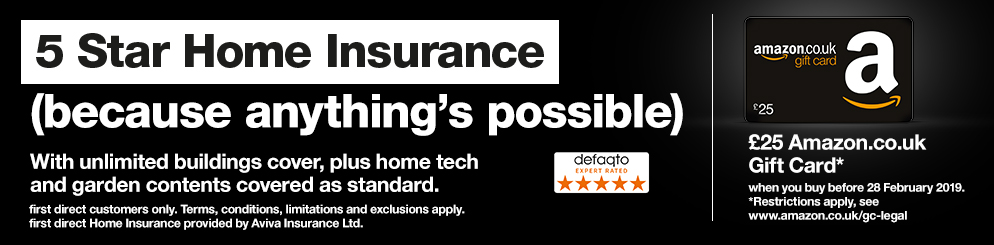 Home insurance with a Defaqto 5 Star Rating. Switch before your current polucy runs out, and we'll pay any cancellation fees*. * terms and conditions apply